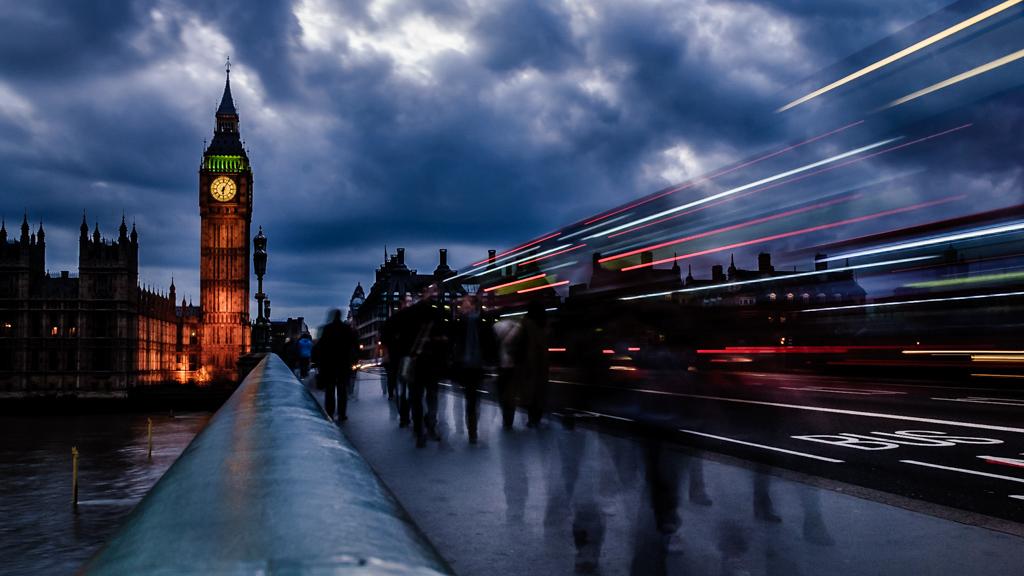 Ghosts on Westminster Bridge