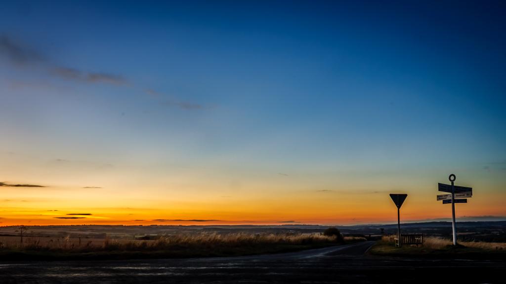Shipton Down Sunset