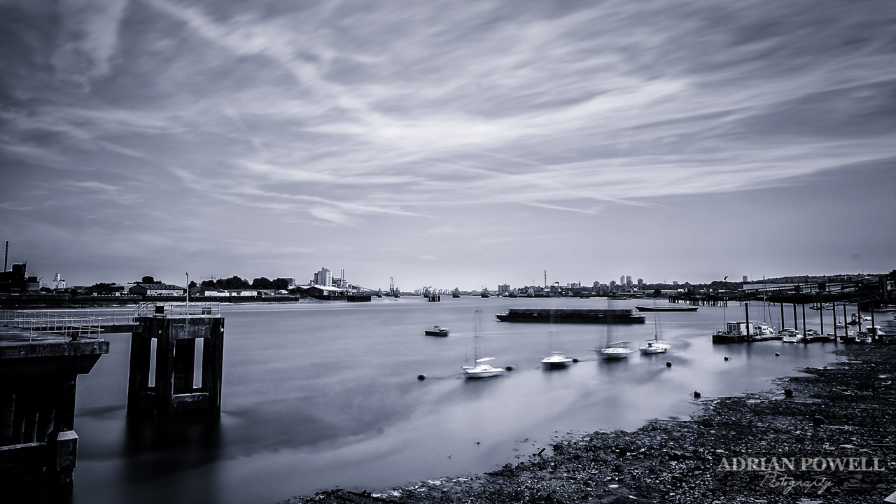 Thames Barrier from Greenwich Peninsula