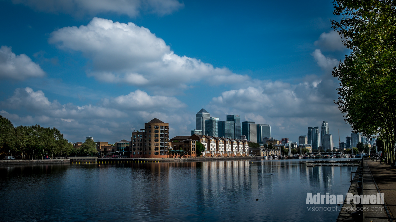 Greenland Dock, Rotherhithe, London